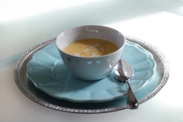 Butternut Squash Soup - from Pretty Little Details.