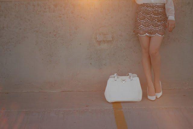 Scalloped Sequinned Skirt - from Pretty Little Details.
