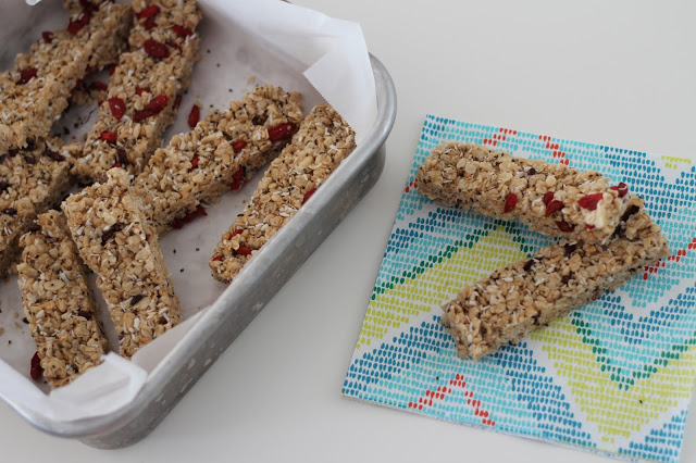 Superfood Granola Bars - from Pretty Little Details