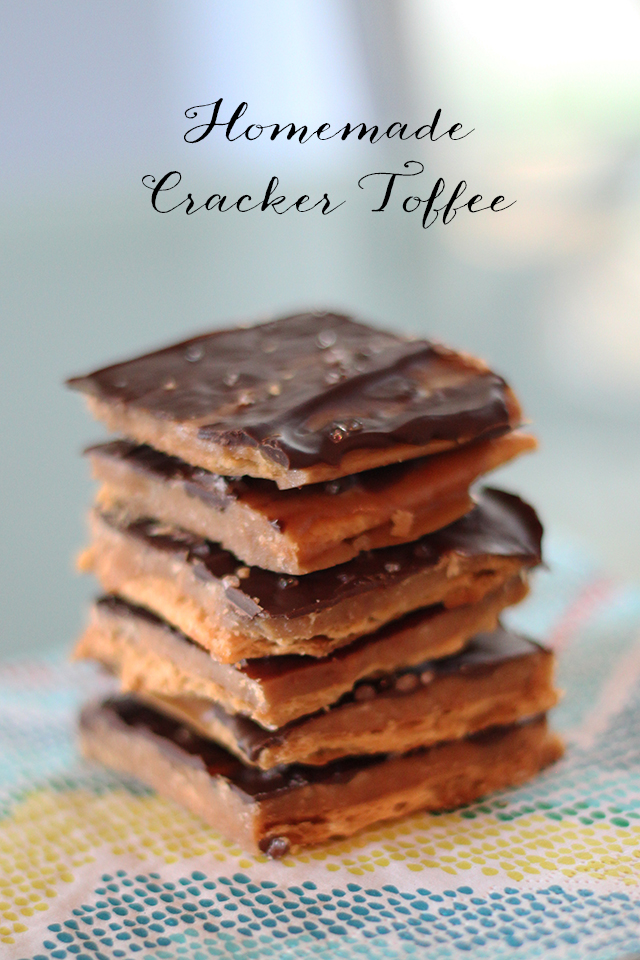 Recipe for the most addictive chocolate covered, saltine cracker toffee!