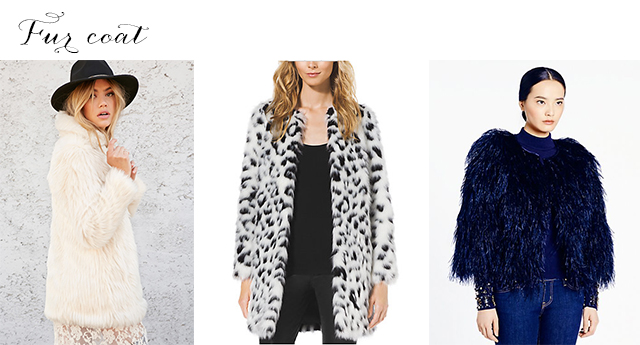 The fur coat - one of five winter coats you need to keep warm and stylish in 2015.