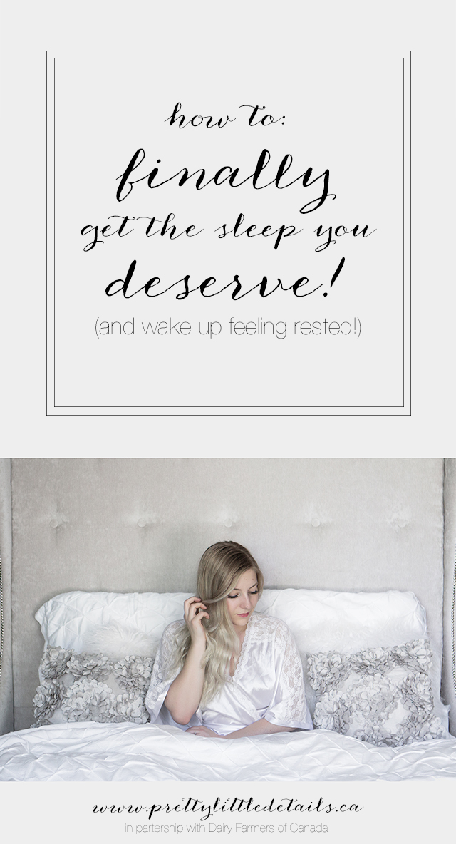 Three tips for getting your best sleep ever & waking up rested!