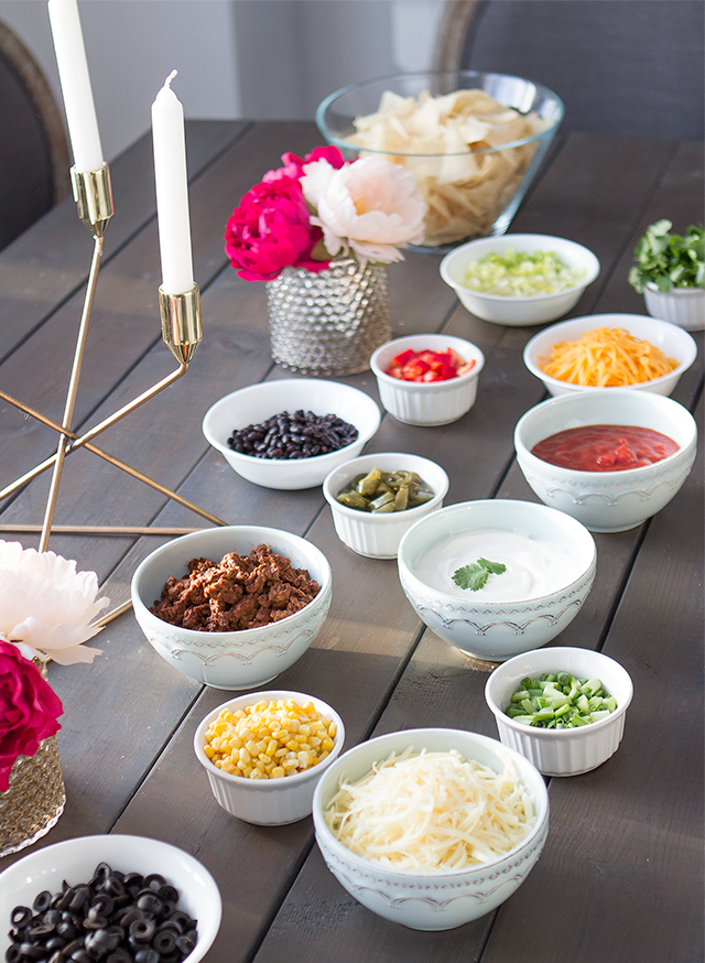 How to create your own DIY Nacho Bar!