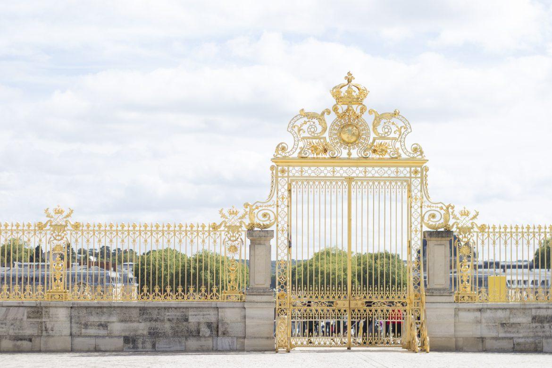 Palace gates of Versailles