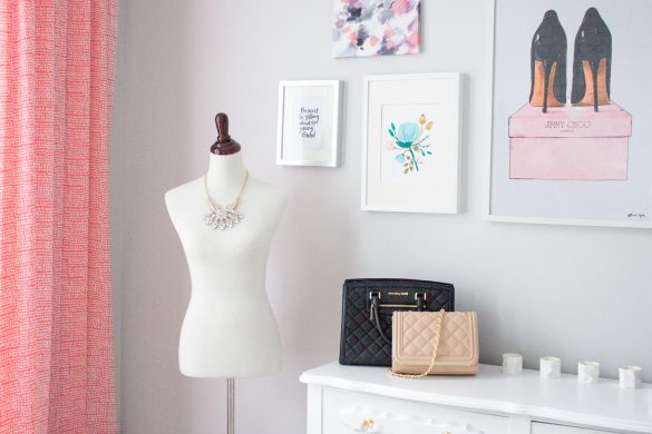 pretty little details home office tour