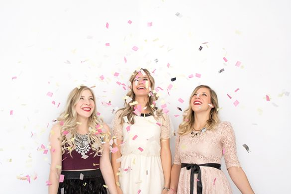 Behind the scenes at the launch party for Shop Pretty Little Details! Plus a fun video from Winnipeg videographer Bow Tie Films.