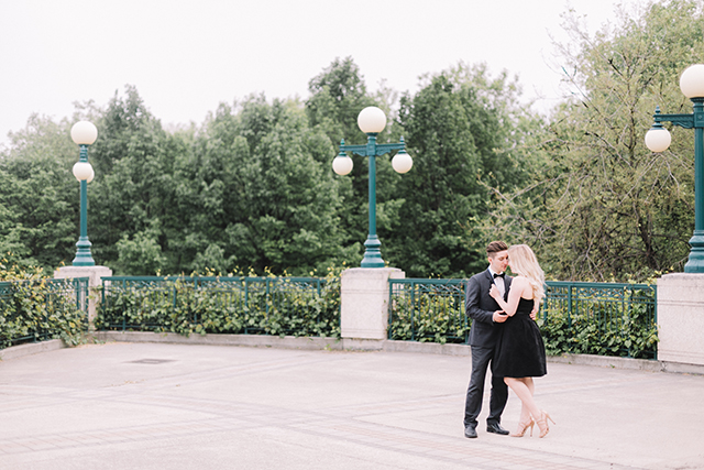 Romantic anniversary photoshoot with Winnipeg photographer Charmaine Mallari.