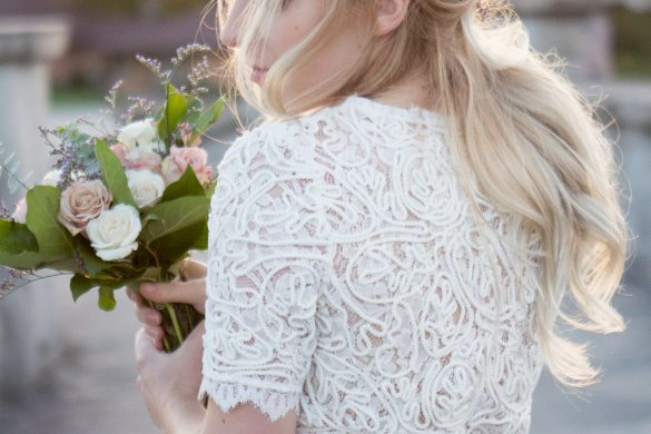 Romantic bridal hair inspiration