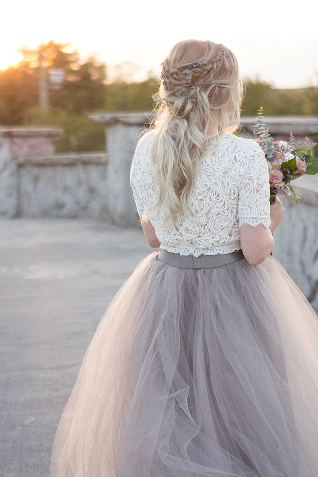 Romance & Lace // Bridal hair inspiration