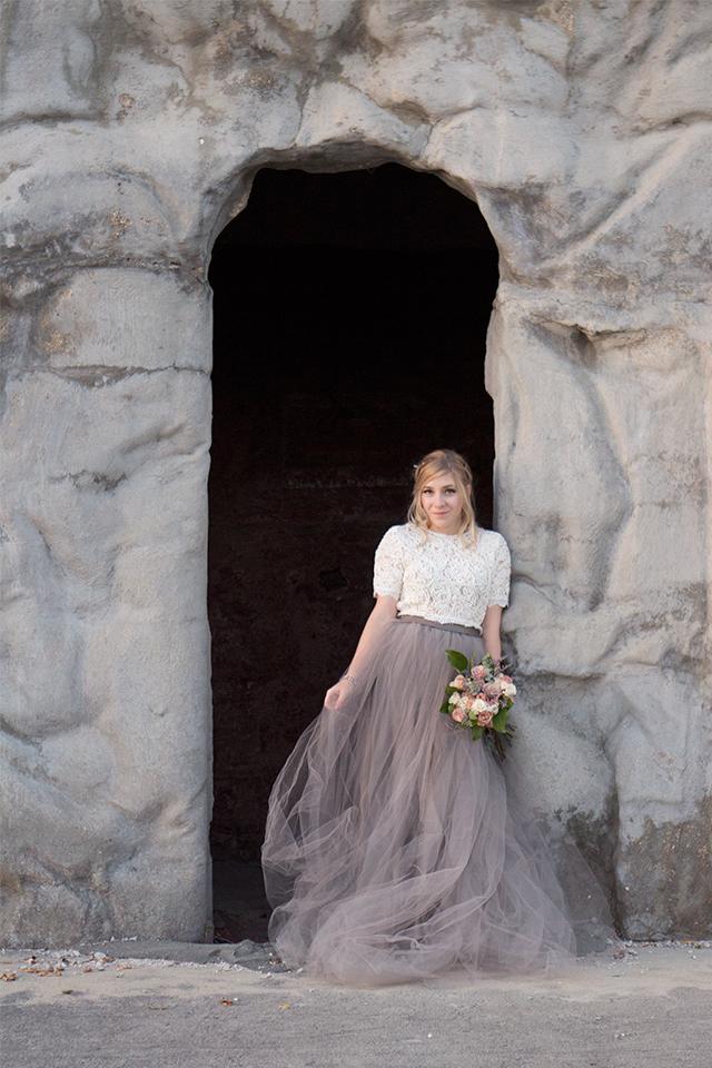 Romance & Lace // Bridal hair inspiration