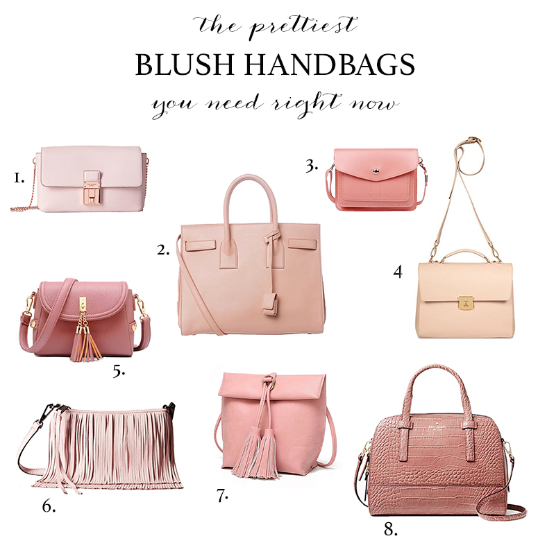 The prettiest blush handbags you need for spring