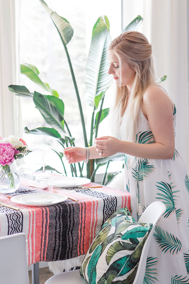 Effortless entertaining // How to host a stress-free dinner party