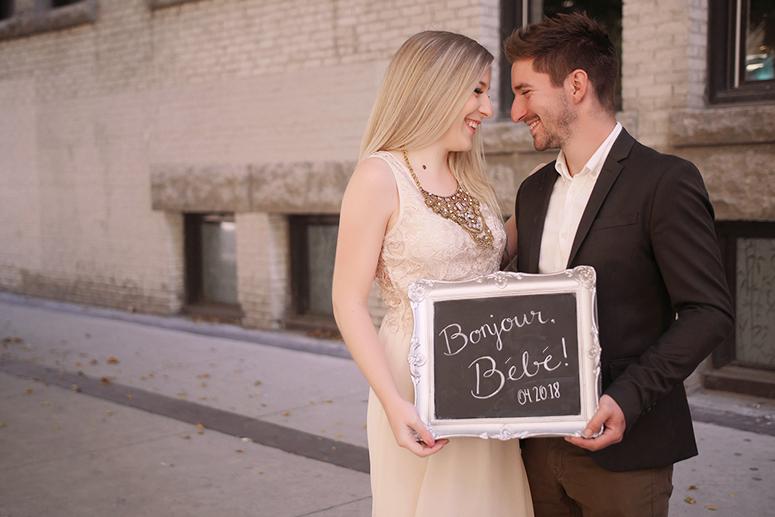 Our pregnancy announcement // Pretty Little Details