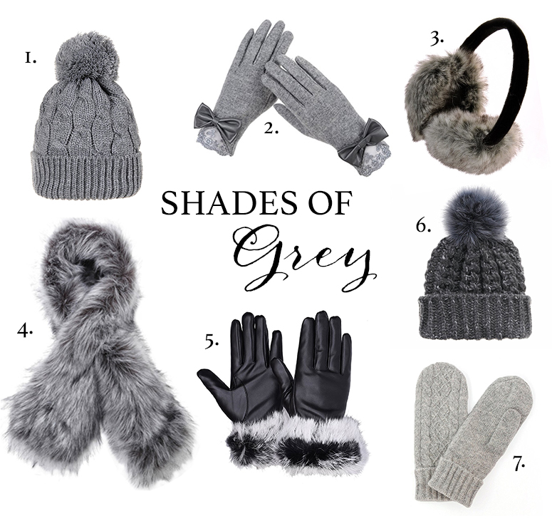 Winter accessories guide - the prettiest grey scarves, hats and mittens