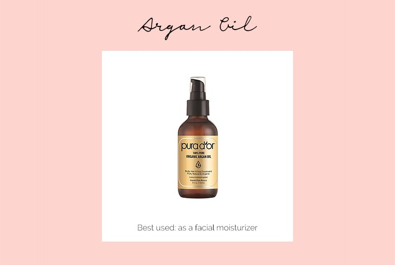 Argan oil - one of the best single ingredient skincare products for glowing skin.