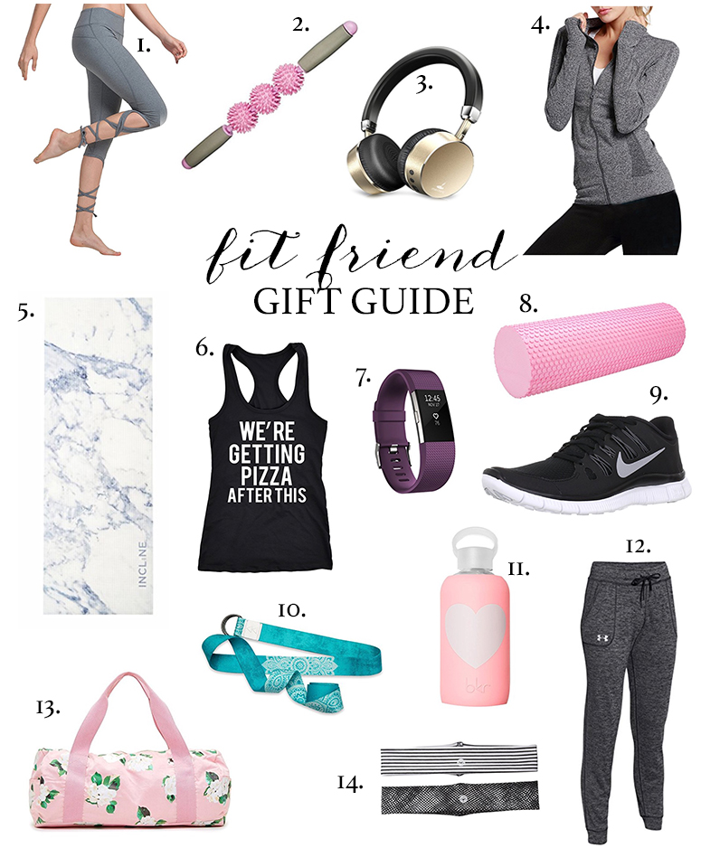 The ultimate christmas gift idea list for fitness enthusiasts.