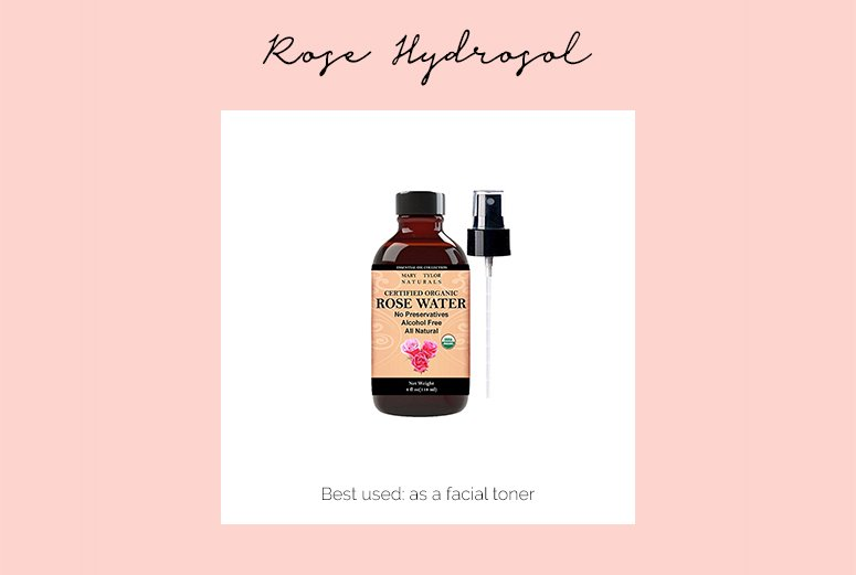 Rose hydrofoil - one of the best single ingredient skincare products for glowing skin.