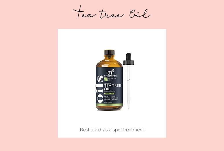 Tea tree oil - one of the best single ingredient skincare products for glowing skin.