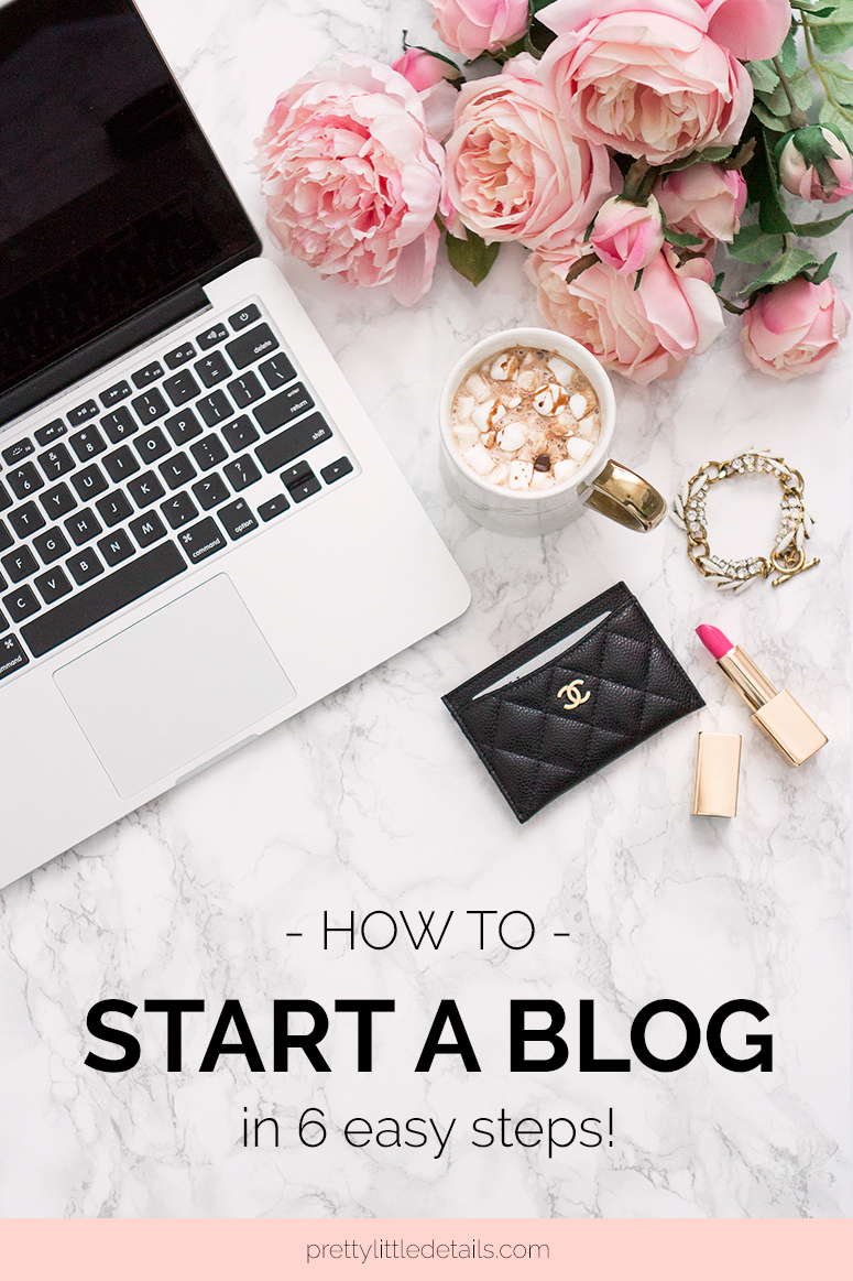 How to start a lifestyle blog in 2018 - 6 easy steps to get you started
