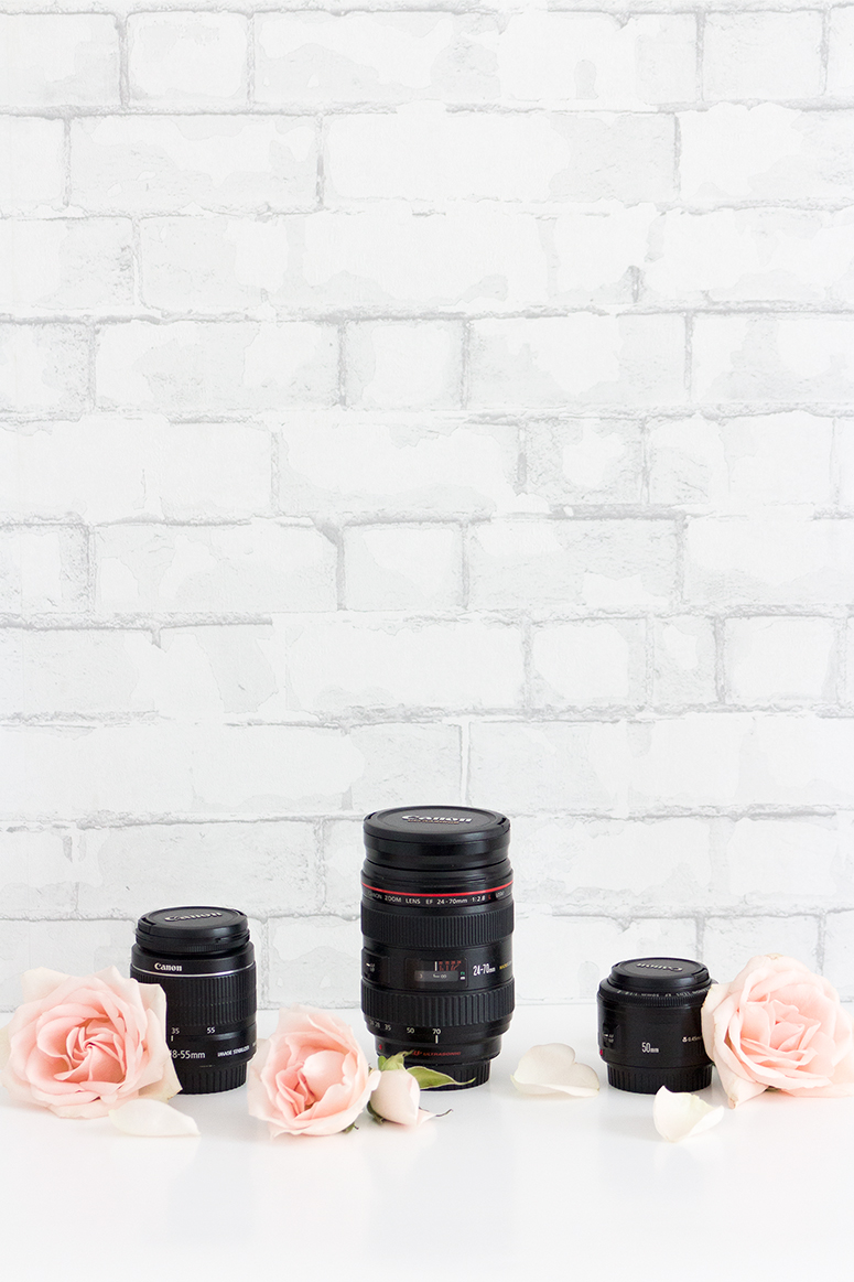 A blogger's guide to camera lenses. How to choose the best camera lens.