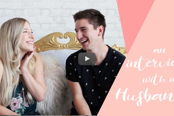 Interview with my husband (& my pregnancy reveal!)