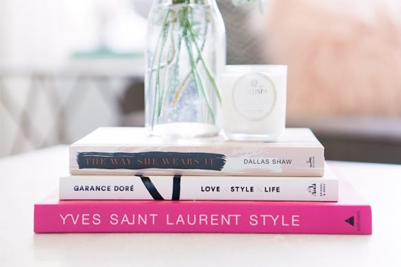 The best pink coffee table books for decorating.