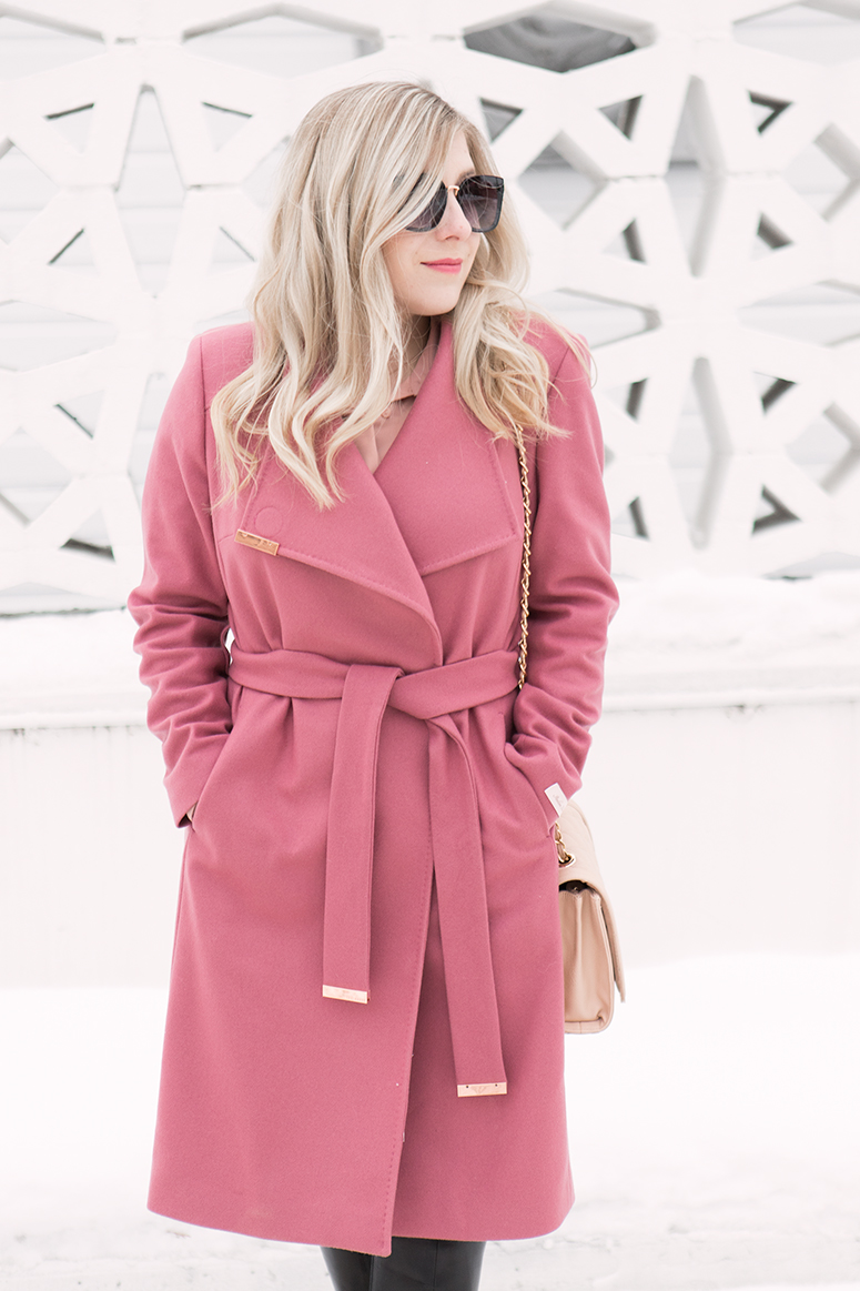 How to wear dark rose pink - the it colour for 2019.