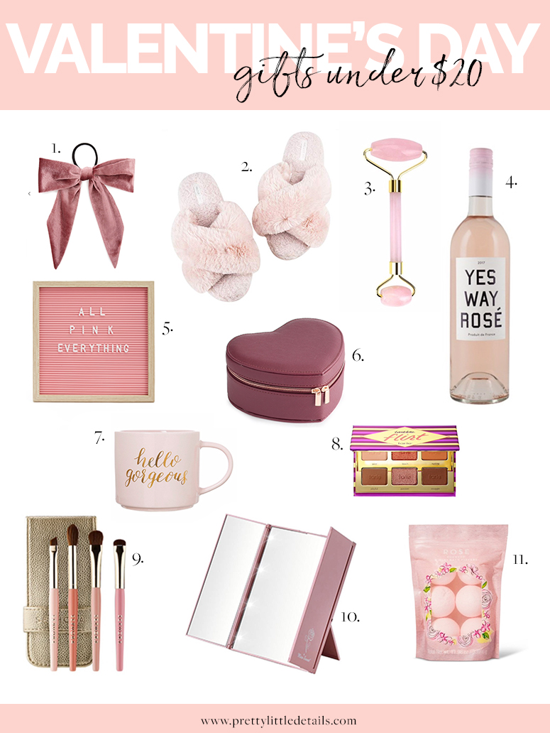 Valentine's day gift guide under 20 dollars!