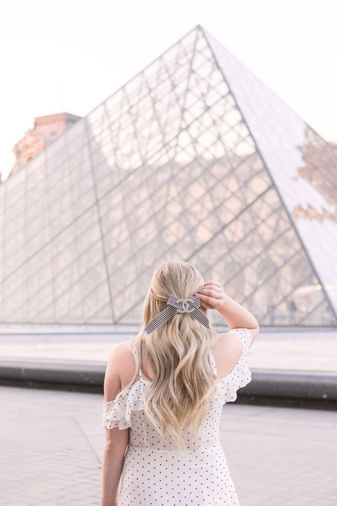 The most Instagram worthy places in Paris: the Louvre