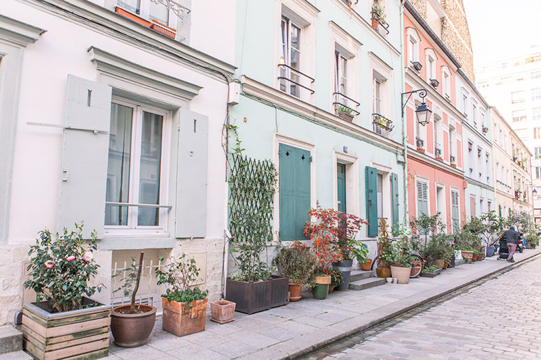 Rue Cremieux is the most colourful street in Paris and arguably also the most Instagramable.