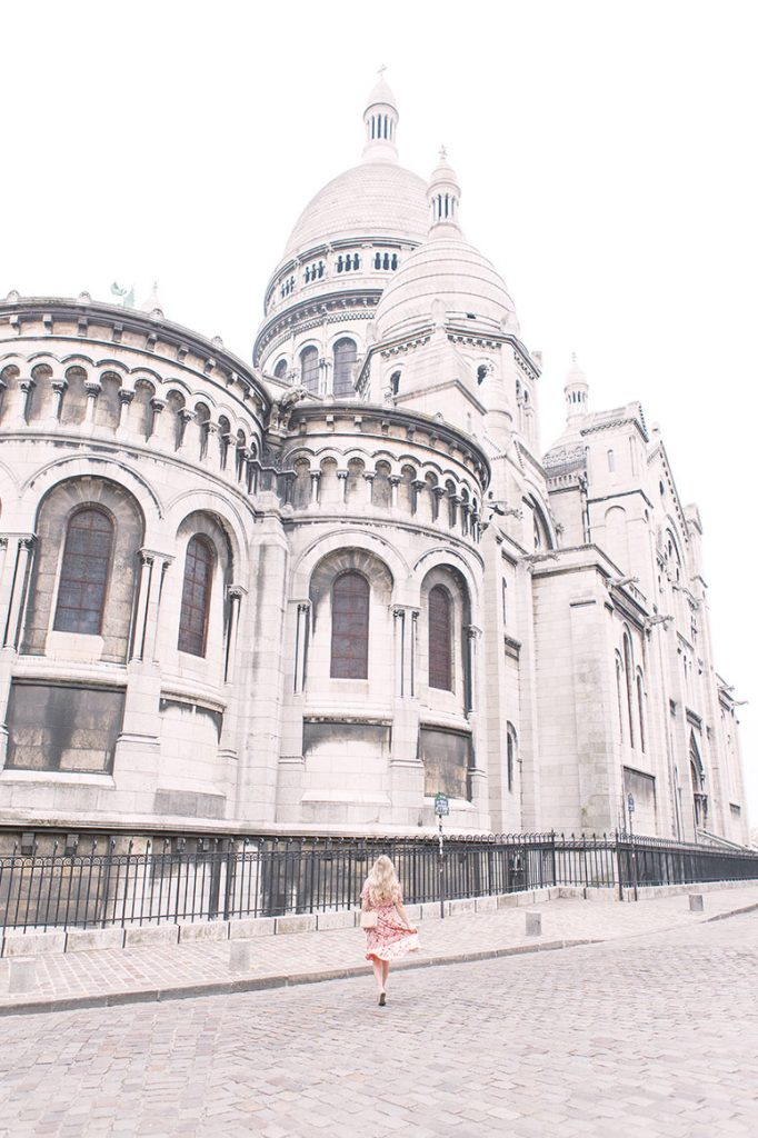 The most Instagram worthy places in Paris: the Sacre Cour