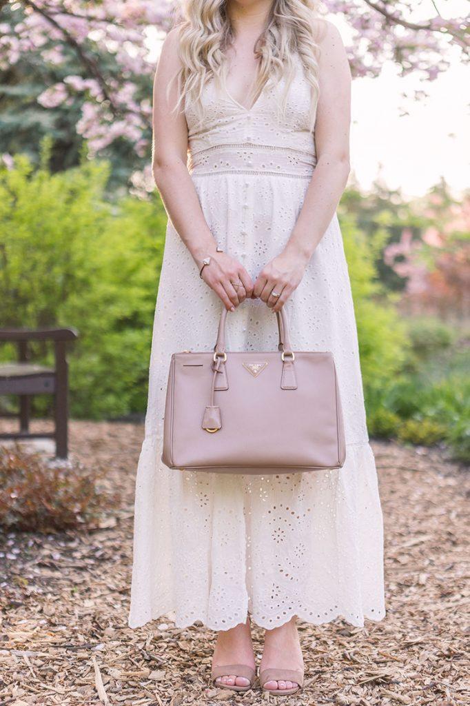 How to wear a little white dress // Pretty Little Details.