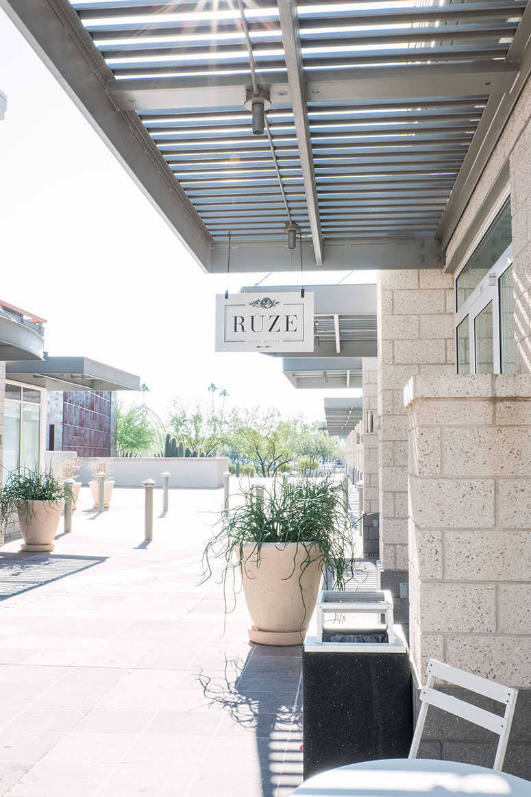 Pretty places to eat in Scottsdale, Arizona: Ruze Cake House