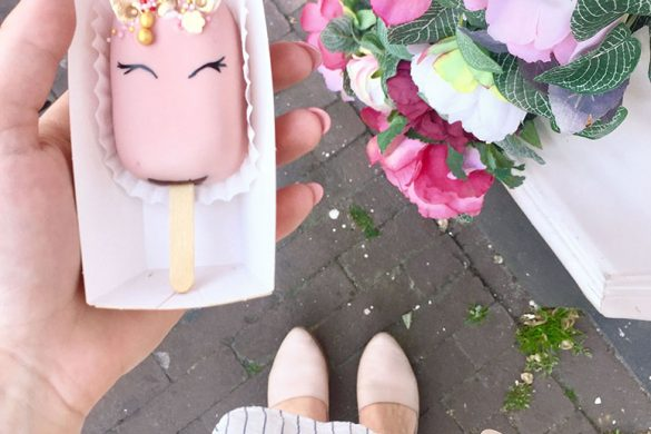 Most instagram worthy food in Amsterdam: Polaberry unicorn cake pop