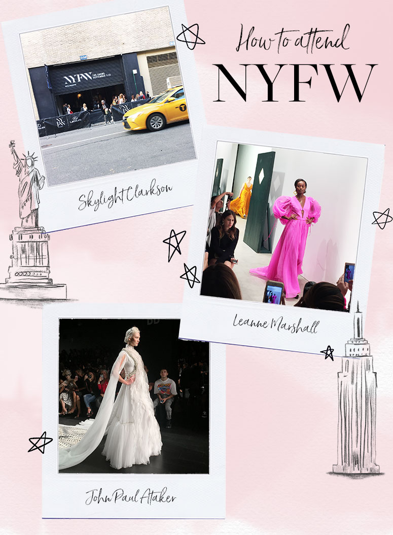 How to attend New York Fashion Week as a blogger.