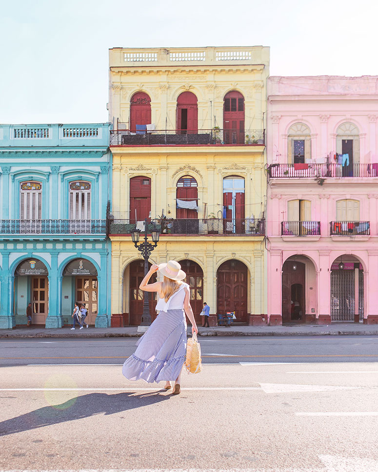 Rainbow buildings in Havana - how to spend 48 hours in Havana, Cuba