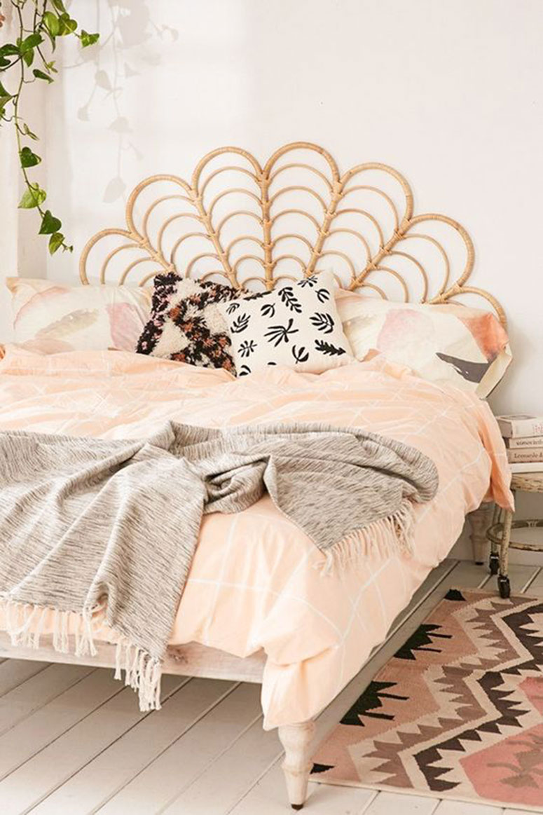 Boho guest room inspiration photos | One room challenge spring 2020