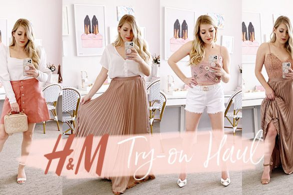 H&M Spring Fashion Try-on Haul