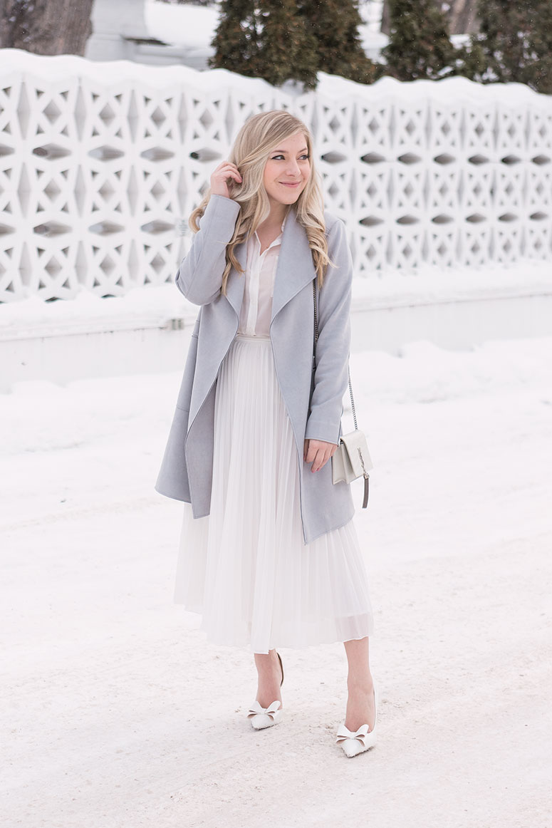 How to wear white in winter: three tips to master wearing winter whites