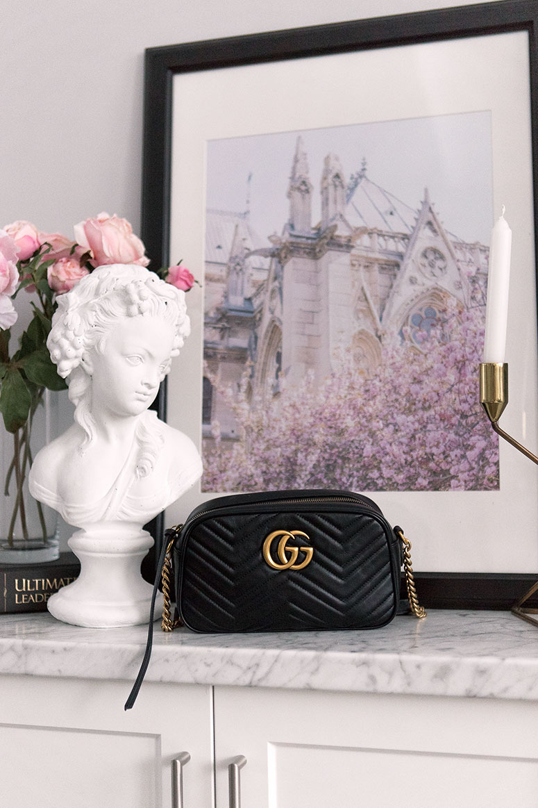 Gucci GG Marmont Small matelassé shoulder bag review