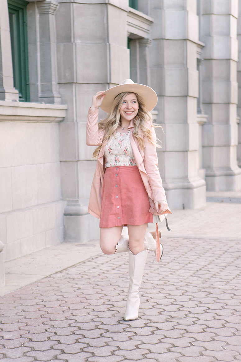 How to wear a smocked top // Summer fashion trends 2021